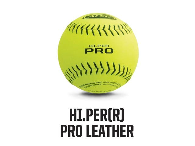 High-Per Pro Leather Softball | ATEC